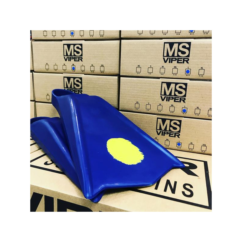 palmes MS Viper Bleu / jaune