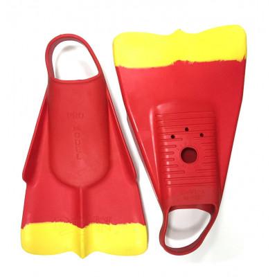 Palmes DaFin rouge / jaune