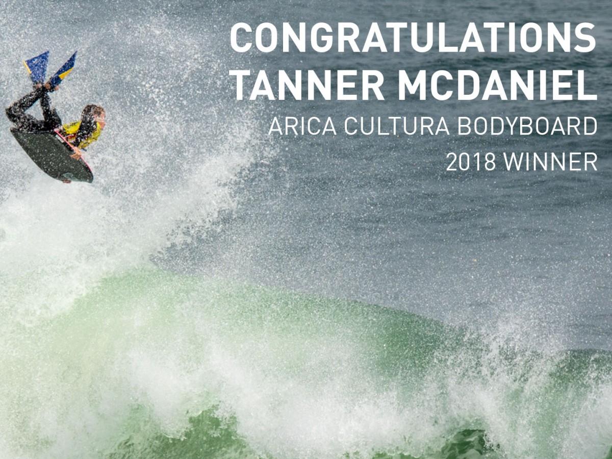 Tanner Mc Daniel remporte le Arica Challenge !