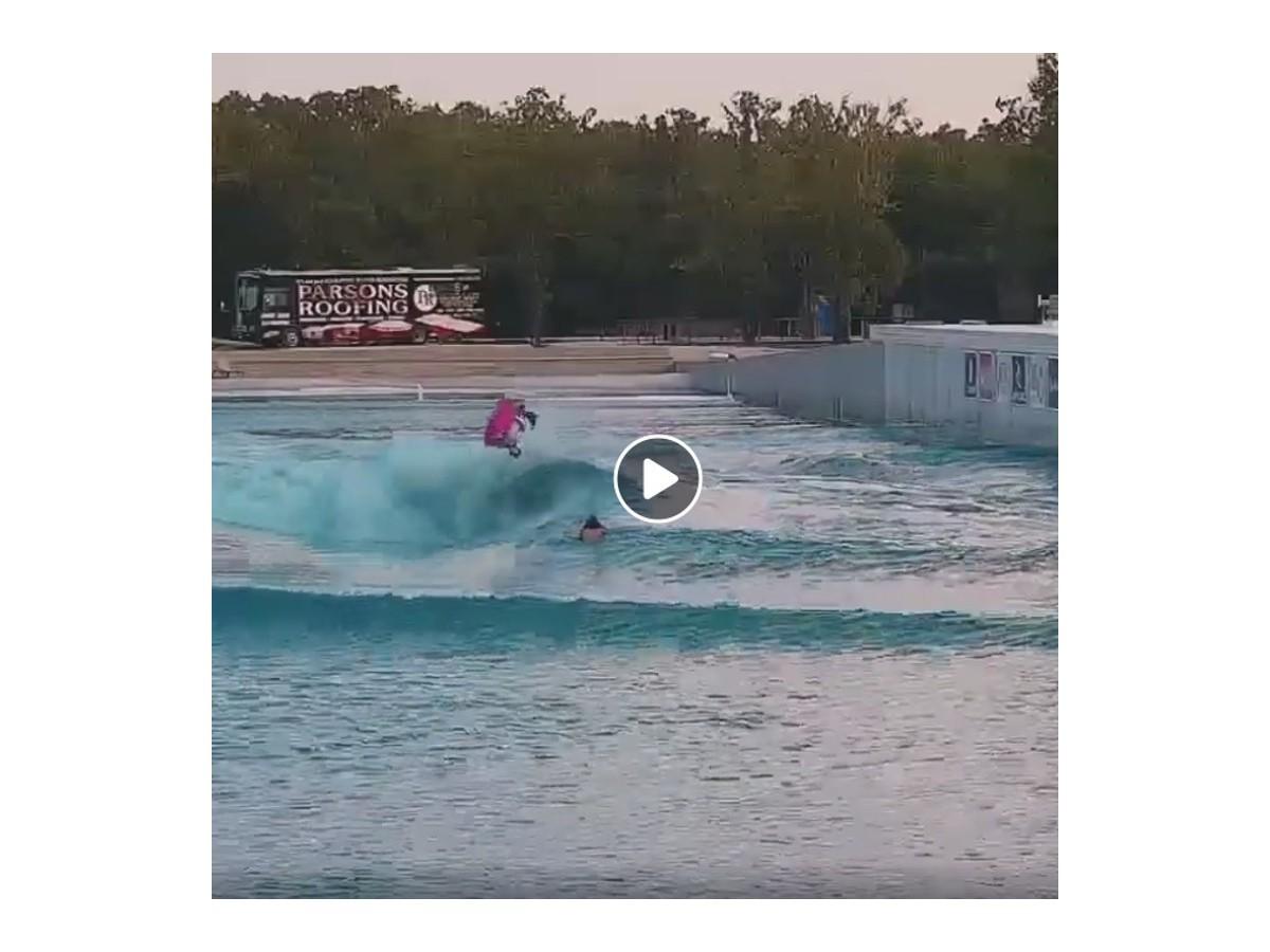 Tanner Mc Daniel sur la piscine a vagues BSR