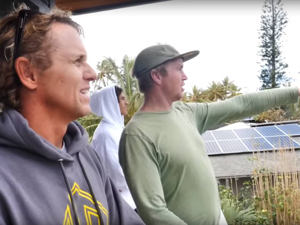 La légende du Surf Jamie O'Brien s'essaye au bodyboard