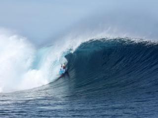 Mike Stewart au Fidji
