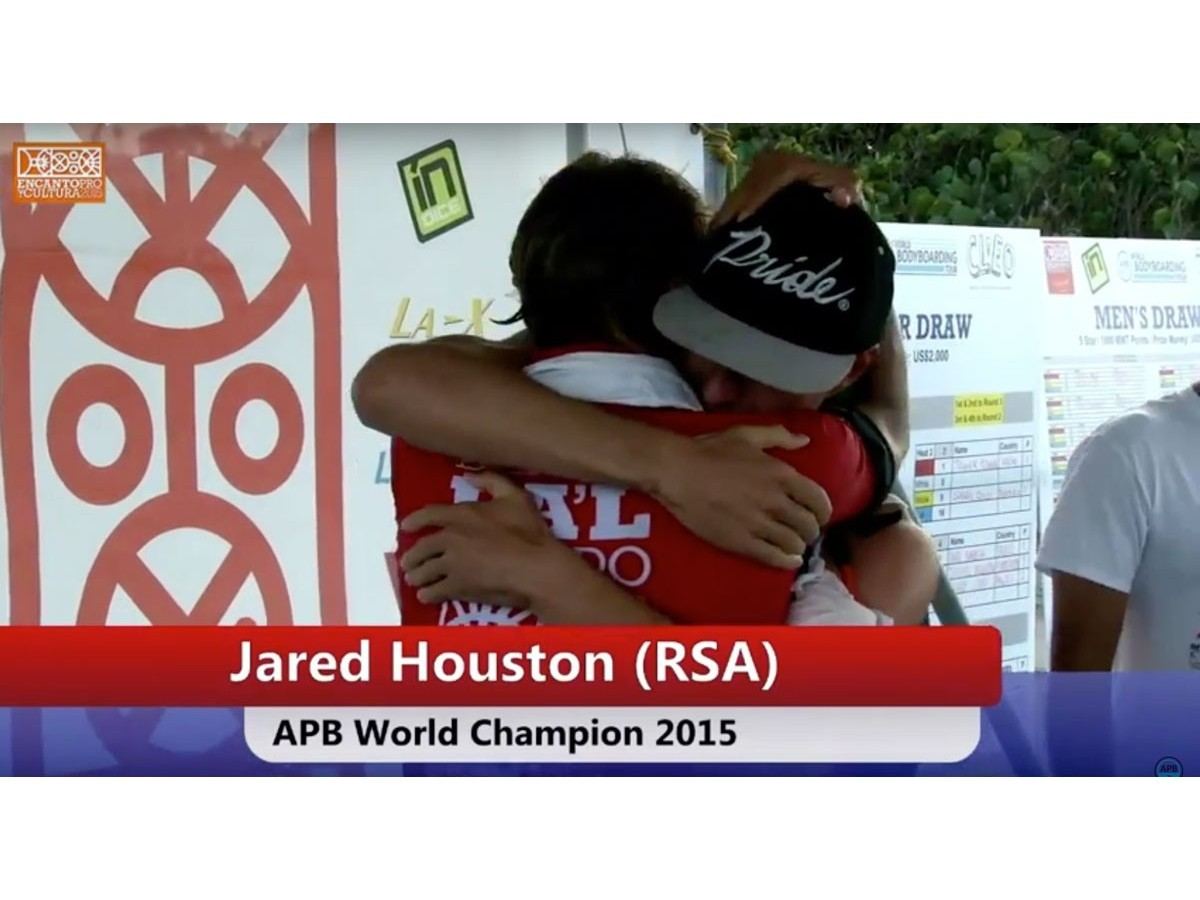 Jared Houston Champion du monde