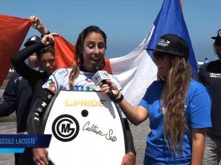 Anne Cécile Lacoste Championne du monde